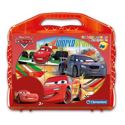 Clementoni-42447 Würfelpuzzle - Cars