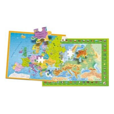Puzzle  Clementoni-50020 Europa Mappe