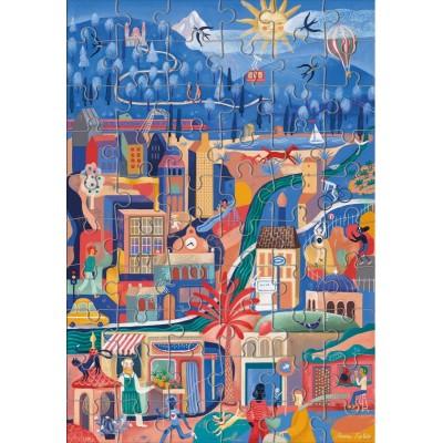 Puzzle  Clementoni-50160 Winter