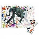 Puzzle  Clementoni-50165 XXL Teile - Elefant