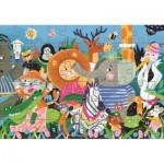 Puzzle  Clementoni-50173 Wild Animals
