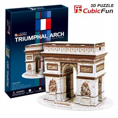 Cubic-Fun-C045H Puzzle 3D - Triumpfbogen, Paris, Frankreich