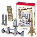 Cubic-Fun-C056H 3D Puzzle - Mini Architektur Serie: Monumente der Welt (Schwierigkeit: 4/8)