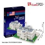 Cubic-Fun-C060H Puzzle 3D - Washington: Weisses Haus