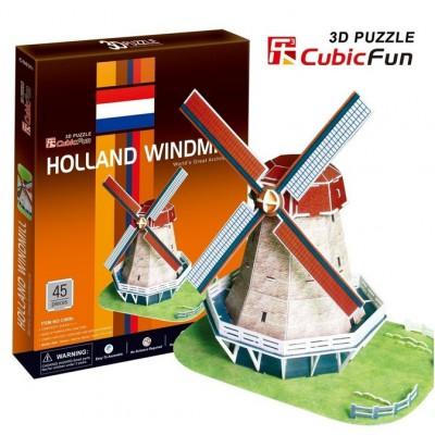 Cubic-Fun-C089H Puzzle 3D - Holländische Windmühle
