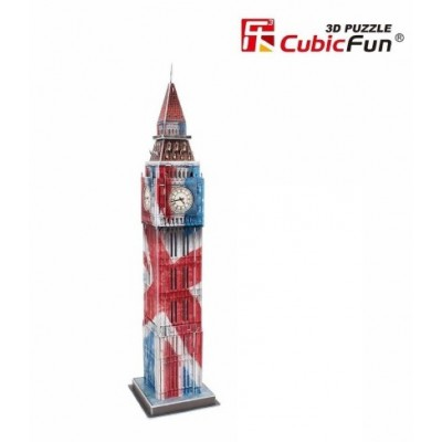 Cubic-Fun-C094T 3D Puzzle - Big Ben Color - Schwierigkeit: 4/8