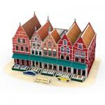 Cubic-Fun-C182H 3D Puzzle - Grand Place - Schwierigkeit: 4/8
