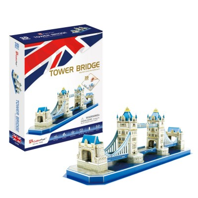 Cubic-Fun-C238h 3D Puzzle - Tower Bridge - Schwierigkeit: 4/8