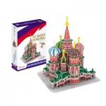 Cubic-Fun-C239h 3D Puzzle - Basilius-Kathedrale - Schwierigkeit: 4/8