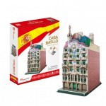 Cubic-Fun-C240h 3D Puzzle - Casa Batlló - Schwierigkeit: 4/8
