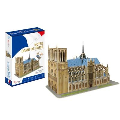 Cubic-Fun-C242h 3D Puzzle - Notre Dame de Paris - Schwierigkeit: 4/8