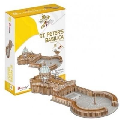 Cubic-Fun-C244h 3D Puzzle - Petersdom, Rom, Vatikan