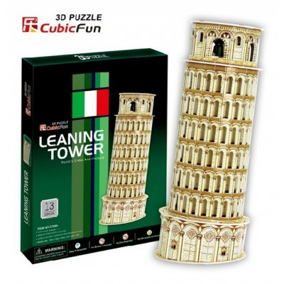 Cubic-Fun-C706H Puzzle 3D - Schiefer Turm von Pisa