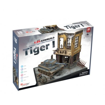 Cubic-Fun-JS4201h 3D Puzzle - German Tiger I - Schwierigkeit: 7/8