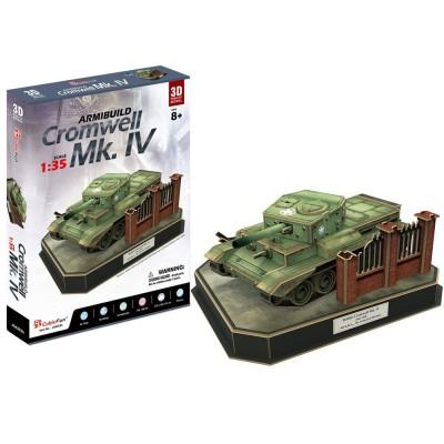 Cubic-Fun-JS4203h 3D Puzzle - British Cromwell Mk. IV - Schwierigkeit: 5/8