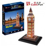 Cubic-Fun-L501H Puzzle 3D mit LED - London: Big Ben