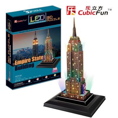 Cubic-Fun-L503H Puzzle 3D mit LED  - Empire State Building