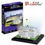 Cubic-Fun-L504H 3D Puzzle mit LED - Weißes Haus, Washington