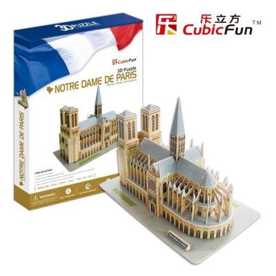 Cubic-Fun-MC054H Puzzle 3D - Notre-Dame in Paris