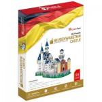 Cubic-Fun-MC062H Puzzle 3D - Schloss Neuschwanstein, Bayern, Deutschland