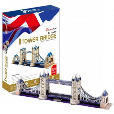 Cubic-Fun-MC066H Puzzle 3D - London: Tower Bridge