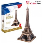 Cubic-Fun-MC091H Puzzle 3D - Paris: Eiffelturm
