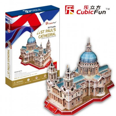 Cubic-Fun-MC117H Puzzle 3D - St. Paul's Cathedral, London