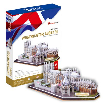 Cubic-Fun-MC121H Puzzle 3D - Westminster Abbey, London