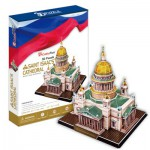 Cubic-Fun-MC122H Puzzle 3D - Isaakskathedrale, Sankt Petersburg