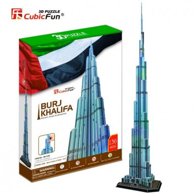 Cubic-Fun-MC133H Puzzle 3D - Burj Khalifa, Dubai