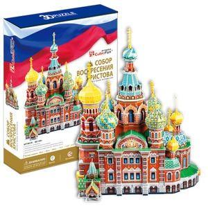 Cubic-Fun-MC148H Puzzle 3D - Retter Auf Blut-Kathedrale, Sankt Petersburg