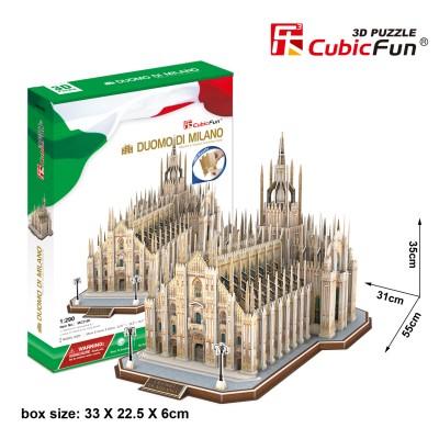 Cubic-Fun-MC210h 3D Puzzle - Duomo di Milano (Schwierigkeit: 8/8)