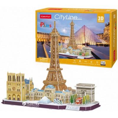 Cubic-Fun-MC254h 3D Puzzle - Paris- Schwierigkeit: 4/8