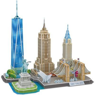 Cubic-Fun-MC255h 3D Puzzle - New York - Schwierigkeit: 4/8