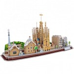Cubic-Fun-MC256h 3D Puzzle - Barcelona - Schwierigkeit: 4/8