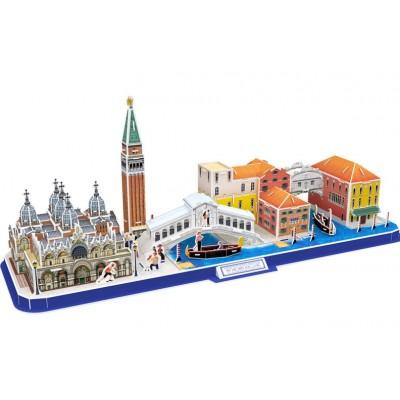 Cubic-Fun-MC269H 3D Puzzle - Cityline Venice