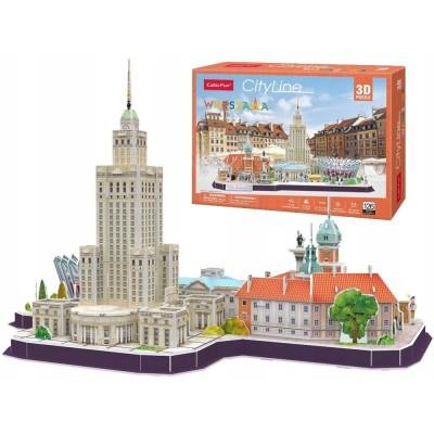 Cubic-Fun-MC271H 3D Puzzle - Cityline Warschau