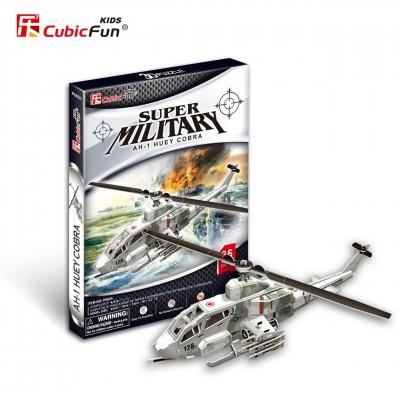 Cubic-Fun-P603H Puzzle 3D - AH-1 Huey Cobra Hubschrauber