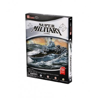 Cubic-Fun-P644H 3D Puzzle - Super Military Liaoning