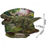 Cubic-Fun-P668H 3D Puzzle - T-Rex - Schwierigkeit: 4/7