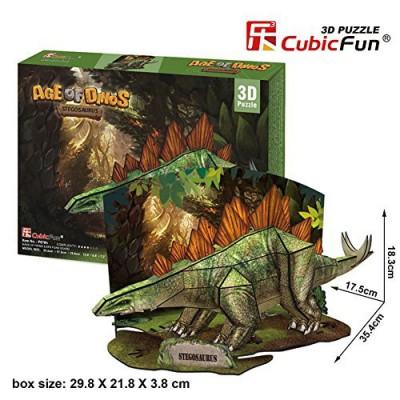 Cubic-Fun-P670H 3D Puzzle - Stegosaurus  - Schwierigkeit: 4/7