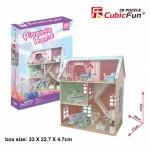 Cubic-Fun-P684h 3D Puzzle - Pianist's Home (Schwierigkeit: 4/6)