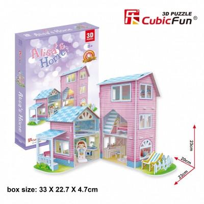 Cubic-Fun-P689h 3D Puzzle - Alisa's Home