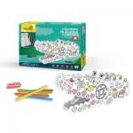 Cubic-Fun-P697h 3D Puzzle - Krokodil zum Ausmalen