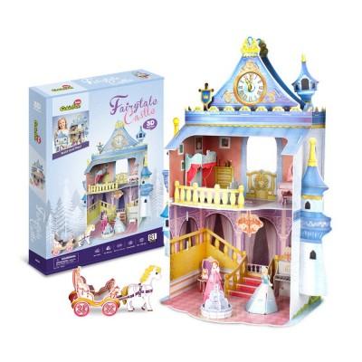 Cubic-Fun-P809H 3D Puzzle - Fairytale Castle