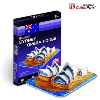 Cubic-Fun-S3001H Puzzle 3D Mini - Opernhaus, Sydney, Australien