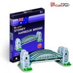 Cubic-Fun-S3002H Mini 3D Puzzle - Harbour Bridge, Sydney, Australien
