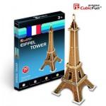 Cubic-Fun-S3006H Puzzle 3D Mini - Eiffelturm, Paris