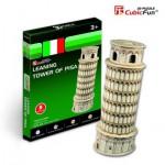 Cubic-Fun-S3008H Puzzle 3D Mini - Schiefer Turm, Pisa
