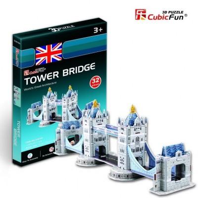 Cubic-Fun-S3010H Puzzle 3D Mini - Tower Bridge, London
